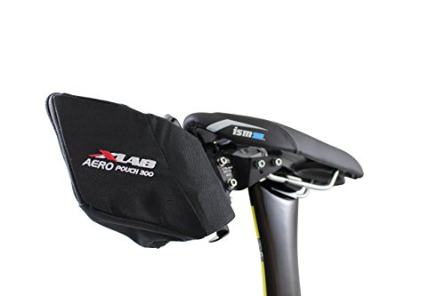 Black #2320 XLab Aero Pouch 300 Aerodynamic Storage For Single Rear Carriers